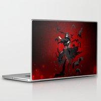 kakashi Laptop & iPad Skins featuring Sharingan Genjutsu Izanami by Electra