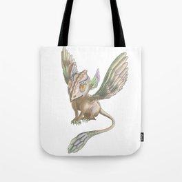 Sparrow dagon by Dreamingsenga Tote Bag