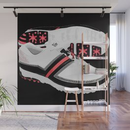 GOLF SHOES Wall Mural