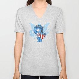 Captain  Americare Unisex V-Neck