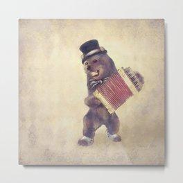 Dancing Bear Metal Print