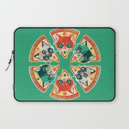 Pizza Slice Cats  Laptop Sleeve
