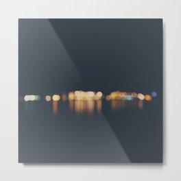 lights ... Metal Print