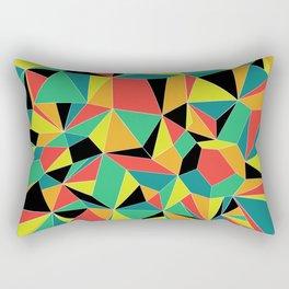 Faceted Kaleidescope Rectangular Pillow