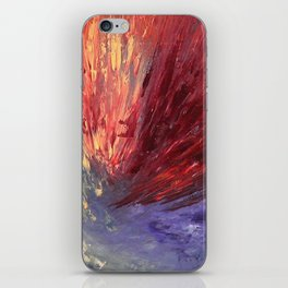 Abstract Untitled Creation by Robert S. Lee iPhone Skin