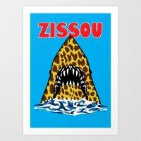 zissou Art Prints featuring Zissou by Buby87