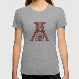 Zollverein Coal Mine Industrial Complex in Essen T-shirt