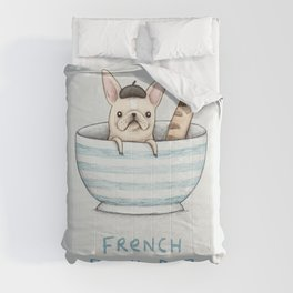 French Bowl Dog Comforters
