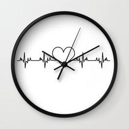 Heartbeat Wall Clock