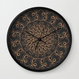 Whooshy the Mandala Wall Clock