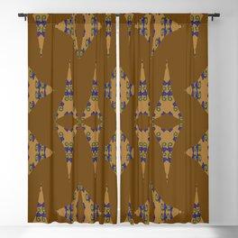 Dainy Bulbs Pinwheels Blackout Curtain