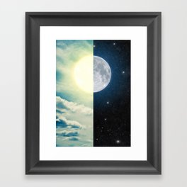 As each day ends... Framed Art Print