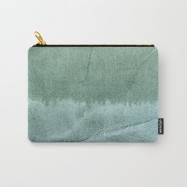 Green gray Carry-All Pouch