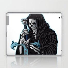 grim reaper with sword .grim reaper tattoo. Laptop & iPad Skin