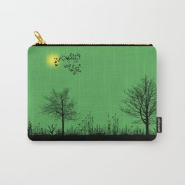 Green panorama Carry-All Pouch