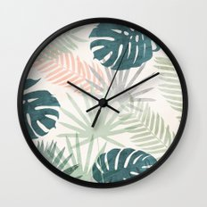Tropicalia Wall Clock