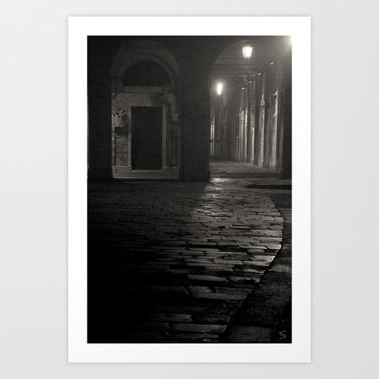 A piece of Venice Art Print