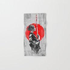 Samurai Girl Hand & Bath Towel