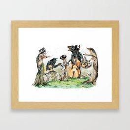 Bluegrass Gang Framed Art Print