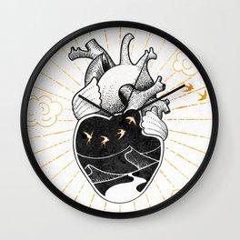 Desert Heart Inktober :: More Magick Wall Clock