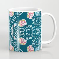 folk Mugs featuring Folk by katharine stackhouse
