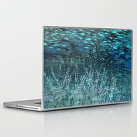 marine Laptop & iPad Skins featuring Marine Scape Deekflo Print AwesomePaletteSoc6 by Awesome Palette