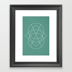 Geometric No.3 Framed Art Print