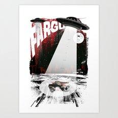 Fargo - 'Death at the Waffle Hut' Art Print