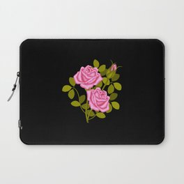 Painted Pink Roses Laptop Sleeve