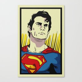 A Superman of steel Canvas Print
