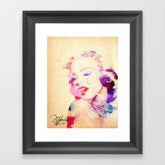 Marilyn Monroe Framed Art Print