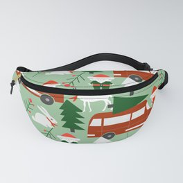 Christmas drive Fanny Pack