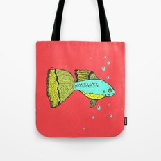 it's a goopie fish Tote Bag
