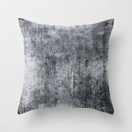 Grey wall Throw Pillow