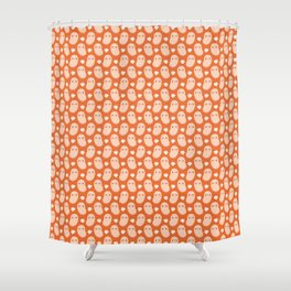 Baked beans farting Shower Curtain