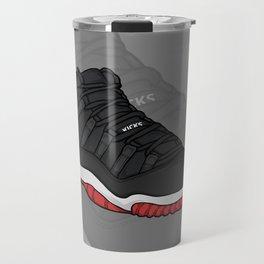 Jordan11-Breds Travel Mug