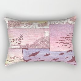 over head Rectangular Pillow