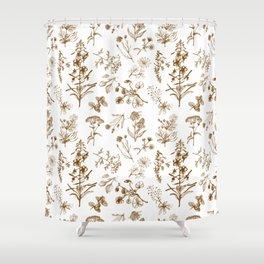 Summer herbs Shower Curtain