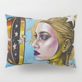 Eclipse 1 (Myth about the sun & stars) Pillow Sham