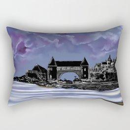 Narragansett Historic Towers -built in 1888 Rectangular Pillow