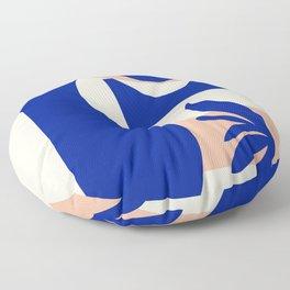 Blue Jar Floor Pillow