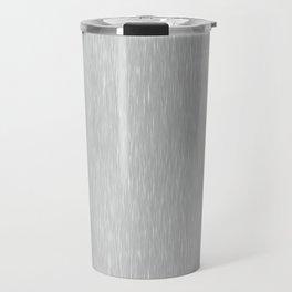 Aluminum Brushed Metal Travel Mug