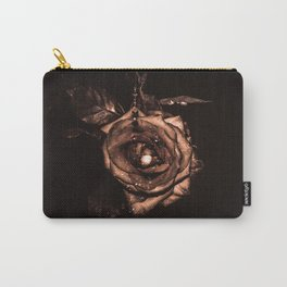 (he called me) the Wild rose Carry-All Pouch