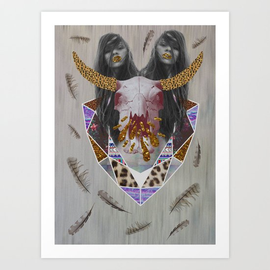 WILDFOX SPARKLE  Art Print