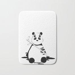 Bamboo lover little bear Bath Mat