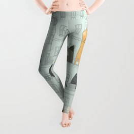 Cats and the city Leggings