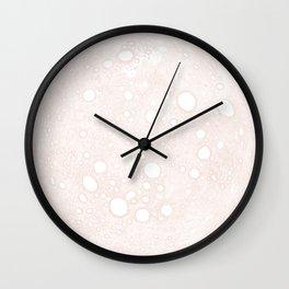 Foliage of Stars: Bird Moon Wall Clock