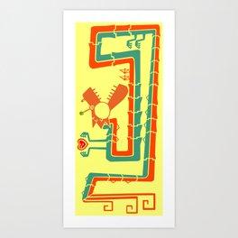 Fracktail Art Print