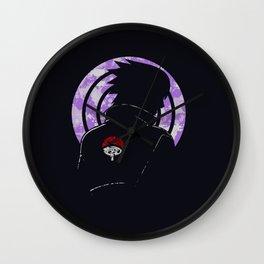 Shadow of Uchiha Sasuke Wall Clock
