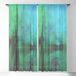 Blobs 2 Sheer Curtain